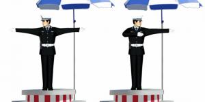 科目一科目四交警手势口诀插图
