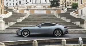 搭载3.9T V8动力法拉利Roma亮相,以意大利首都罗马命名插图(1)