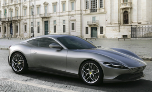 搭载3.9T V8动力法拉利Roma亮相,以意大利首都罗马命名插图