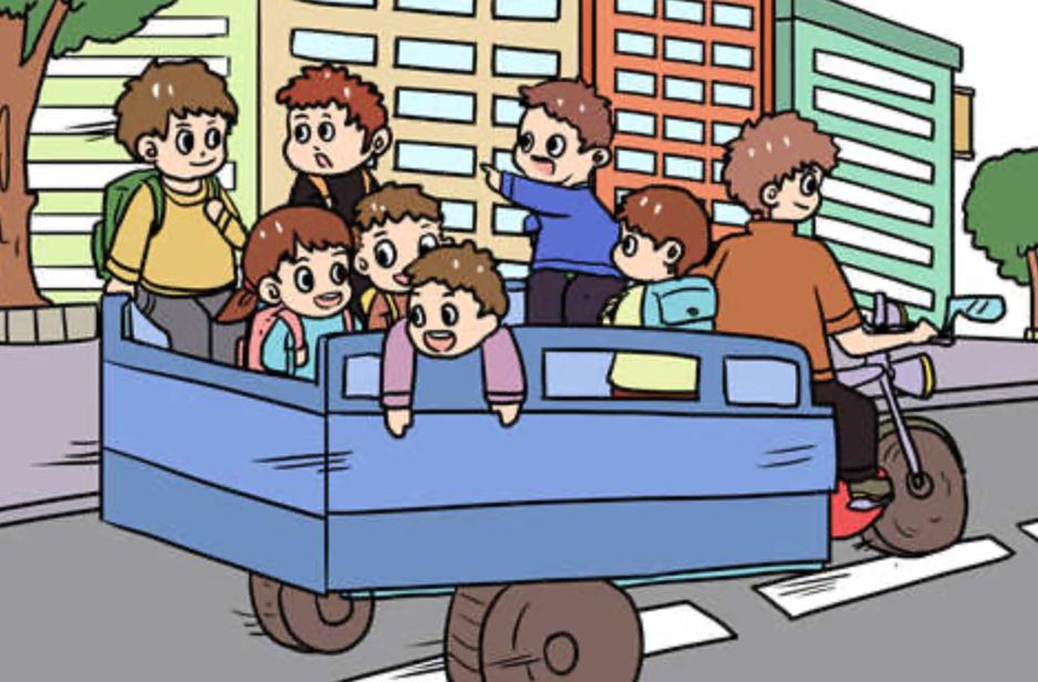 车上多一个小孩算超载吗 别等被罚才知道插图